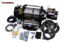 Hydraulische Seilwinde PW15000H 6810 kg mit 12V Steuerung NEU Power Winch