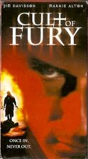 Cult of Fury (VHS, 2002) Jim Davison, Marnie Alton