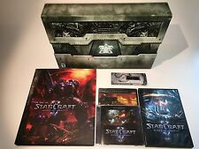 Starcraft II Wings of Liberty Collector's Edition PC w/ Game, Art, Soundtrack