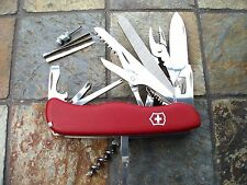 Victorinox WORKCHAMP Original Swiss Army Knife Red 53761 NEW! Authentic!