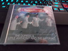 "THE DUPREES & LITTLE ANTHONY & IMPERIALS,CD ""Night Of Legends"" 2010 NEW Sealed"