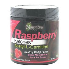 Nutrakey Raspberry Ketones & Acetyl-L-Carnitine Powder - 150 Servings