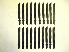 Jig Saw Blades, T Style, Bulk, Unmarked made in the USA, 8 TPI, 20 pcs, 1 Lot.