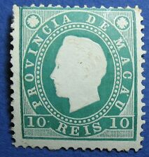 1888 MACAU 10R SCOTT # 36 MICHEL # 33A UNUSED CS10018