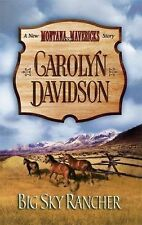 Big Sky Rancher (New Montana Mavericks), Davidson, Carolyn, Good Book