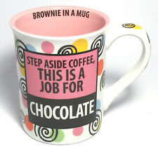 Our Name Is Mud With Recipe by Lorrie Veasey Brownie In A Mug 16oz Cup