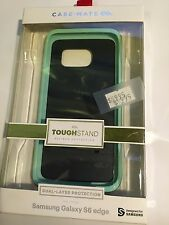 CASE-MATE TOUGH STAND Protector Case Samsung Galaxy S6 Edge Black/Teal CM032578