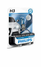 Philips h3 whitevision 4300k intense Xenon effect +60% 12336wb1 2st. + New +