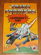 TRANSFORMERS LASERBEAK'S FURY LADYBIRD BRITISH HARDBACK POCKET BOOK