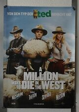 DX040 - KINOPLAKAT - A MILLION WAYS TO DIE IN THE WEST Charlize Theron/Liam Nees