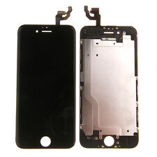 for iPhone 6 Black LCD Lens Touch Screen Display Digitizer Assembly Replacement