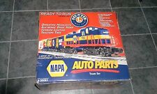 Promotional NAPA Auto Parts Lionel Train Set O-Gauge, new in box - TESTED