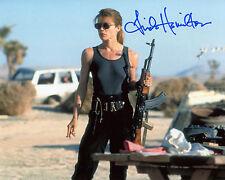 Linda Hamilton - Sarah Conner - Terminator 2 - Signed Autograph REPRINT