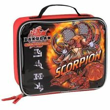 Bakugan Brawlers Scorpion Rectangular Lunch Kit School Lunch Box Bag Cartoon New