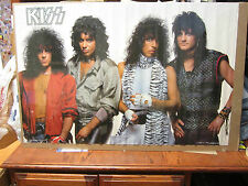 KISS rock n roll original 1984 Vintage Poster 510