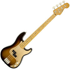Fender 50's Precision Bass Guitar Maple Fretboard 2-Tone Sunburst w/Gig Bag DEMO