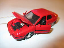 Mazda 323 F in rot rouge rosso roja red, Yonezawa Diapet ca in 1:40  43 VSC!