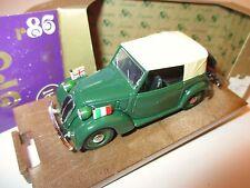 FIAT 508 C Cabriolet Cabriolet 1100 FZ. diplomatiques service, pfuit dans 1:43 box!