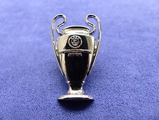 UEFA CHAMPIONS LEAGUE/ EUROPEAN CUP TROPHY BADGE REAL MADRID AC MILAN BARCELONA