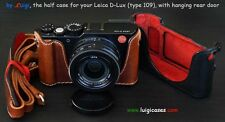 LUIGI's CASE LEICA D-LUX type 109,BUILT-IN-GRIP,REAR DOOR,PADDED STRAP,SHIPPING