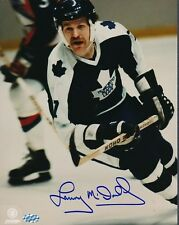 Lanny McDonald Maple Leafs Signed 8x10 Photo Autograph Auto Mounted Memories