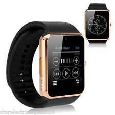SMARTWATCH MONTRE CONNECTE BLUETOOTH 3G ANDROID IPHONE MONTRE CONNECTEE GOLD OR