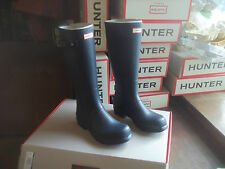 HUNTER WELLIES WELLINGTONS  IN HALIFAX SIZE  10 NAVY ORIGINAL TALL MENS