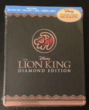 Disney THE LION KING 3D Blu-Ray SteelBook Future Shop 4-Disc Digital Copy. Rare!
