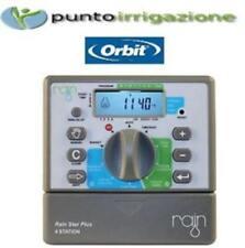 Programmatore centralina RAIN STAR PLUS 4 by Orbit 4 stazioni irrigazione 24v
