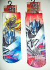 Boys Socks with Transformers Detail in 3 sizes and 2 colours variations