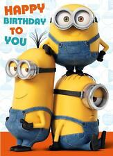 MINIONS MOVIE HAPPY BIRTHDAY TO YOU WITH SOUND BIRTHDAY CARD NEW DESPICABLE ME
