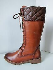Tamaris Bottes délaçage Nut CAFE COGNAC 38 Lacing BOOTS Brown filzi A Lacets