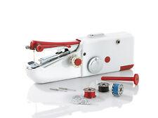 easymaxx Handnähmaschine Mini Nähmaschine kompakt Reise Nähmaschine