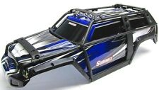 Summit UPDATED BODY (BLUE & BLACK  ExoCage Cover Shell, Traxxas #5607