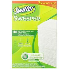 Swiffer Sweeper Dry Sweeping Cloth Refills, 48 Count New