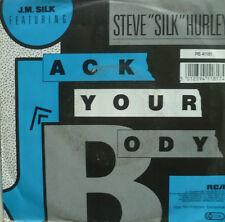 """7"""" 1987! J.M. SILK & STEVE SILK HURLEY : Jack Your Body"""