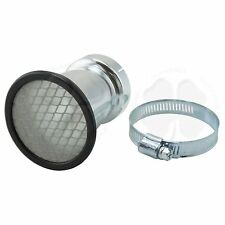 Velocity Stack 50mm 2 inch Universal Carb Air Horn Clamp On Racing Mesh Filter