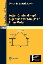 Lecture Notes in Mathematics: Yetter-Drinfel'd Hopf Algebras over Groups of...