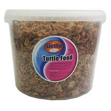 Turtle & Terrapin - 3 LITRI cibo per animali GAMBERI Gammarus mangime Tubifex Rettile 3000ml