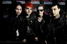 """04 My Chemical Romance - American Rock Band Music Star 21""""x14"""" Poster"""