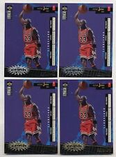 4 CARDS- Michael Jordan 96 Crash ENG S.2 GOLD+ SILVER