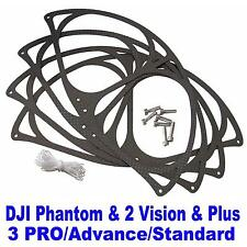 "3K Carbon Propeller 9"" Prop Guard Protector for DJI Phantom 3 2 Vision / Plus"