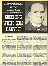 Governor Frank Robert Gooding & White Gold Harvest