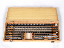 11PC SDS PLUS CONCRETE MASONARY BRICK DRILL BIT SET ROTARY HAMMER POWER TOOL