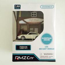 "Hotwheels / Tomica / RMZ City 1/64 Diorama Cafe House "" Porsche 997 "" - Hot Pick"