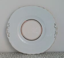 Vintage Royal Vale Pale Blue Harlequin Bone China Cake Plate Shabby Chic Wedding