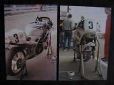 Photo Rothmans Honda RVF750R #3 Joey Dunlop (GBR) Formula 1 Assen 1987 2x