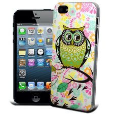 Designer Owls Union Jack Gel Case Silicone Cover For Apple Iphone Phones Model
