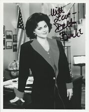DELTA BURKE Signed Photo - Designing Women