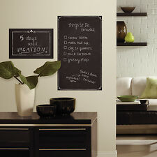 New Large DECORATIVE CHALKBOARD WALL DECALS Bedroom Dorm Room Stickers Decor
